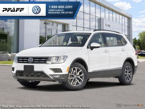 New 2018 Volkswagen Tiguan Comfortline 2.0T 8sp at w/Tip 4M  Crossover