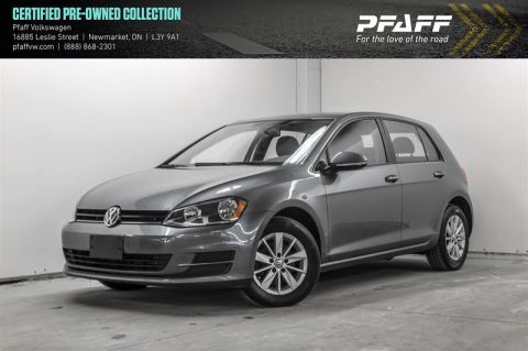 Certified Pre-Owned 2015 Volkswagen Golf 5-Dr 1.8T Trendline 5sp