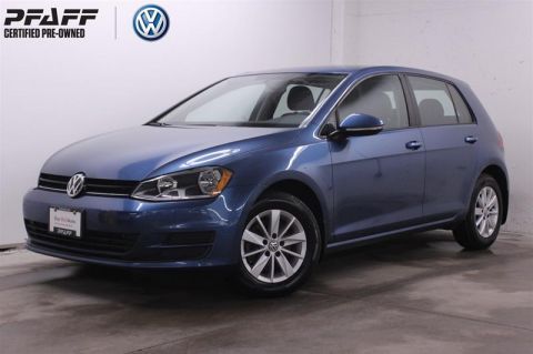 Certified Pre-Owned 2015 Volkswagen Golf 5-Dr 1.8T Trendline at Tip  5-Door Hatchback
