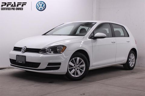 Certified Pre-Owned 2017 Volkswagen Golf 5-Dr 1.8T Trendline 6sp at w/Tip  5-Door Hatchback