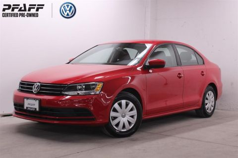 Certified Pre-Owned 2017 Volkswagen Jetta Trendline plus 1.4T 6sp at w/Tip Front Wheel Drive 4-Door Sedan