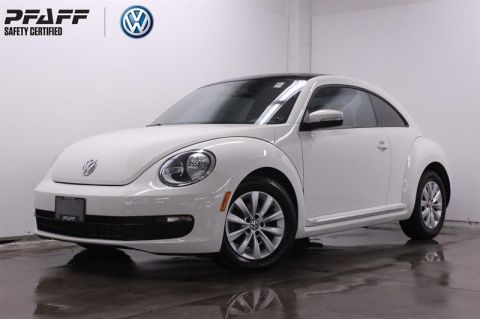 Pre-Owned 2013 Volkswagen The Beetle Comfortline 2.5L 5sp Front Wheel Drive 2-Door Coupe