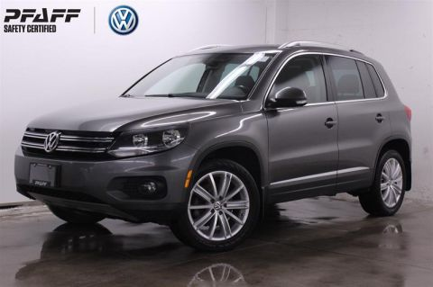 Pre-Owned 2015 Volkswagen Tiguan Highline 6sp at Tip 4M AWD