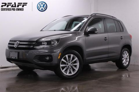 Certified Pre-Owned 2015 Volkswagen Tiguan Trendline 6sp at Tip 4M AWD