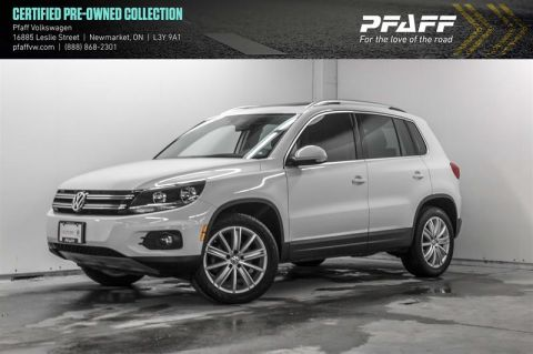 Certified Pre-Owned 2017 Volkswagen Tiguan Comfortline 2.0T 6sp at w/Tip 4M