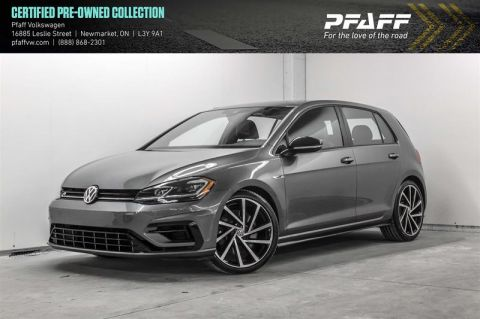 Certified Pre-Owned 2018 Volkswagen Golf R 5-Dr 2.0T 4MOTION at DSG
