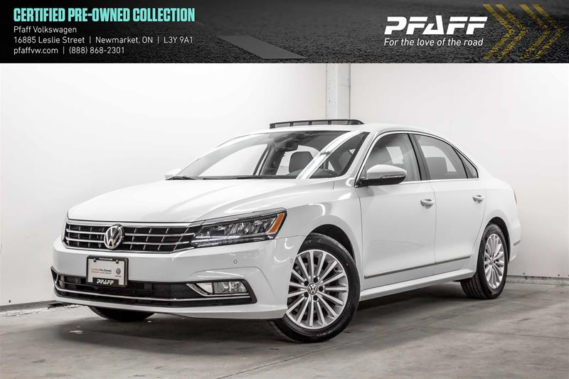 Certified Pre-Owned 2017 Volkswagen Passat Comfortline 1.8T 6sp at w/ Tip