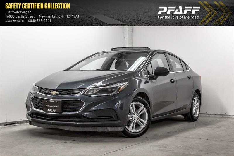 Pre-Owned 2017 Chevrolet Cruze LT - 6AT
