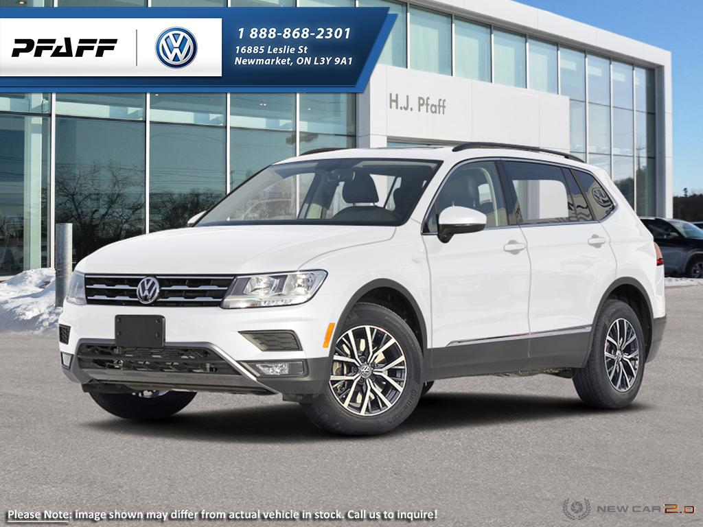 New 2018 Volkswagen Tiguan Comfortline 2.0T 8sp at w/Tip 4M
