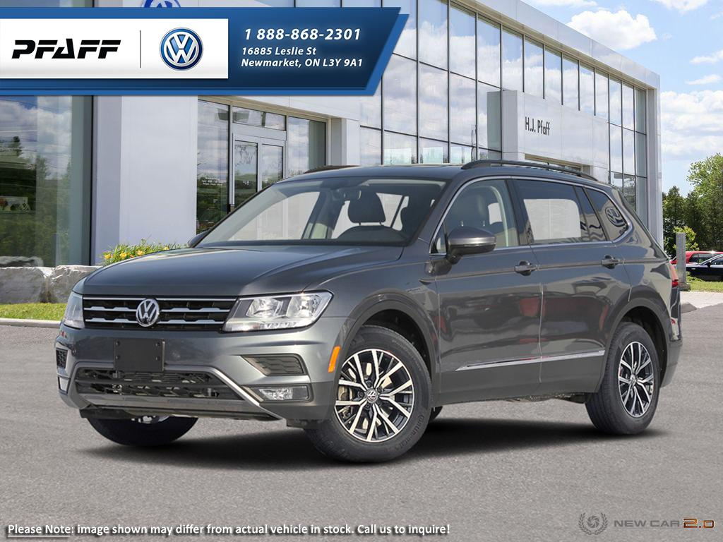 New 2018 Volkswagen Tiguan Comfortline 2.0T 8sp at w/Tip 4MOTION (2)