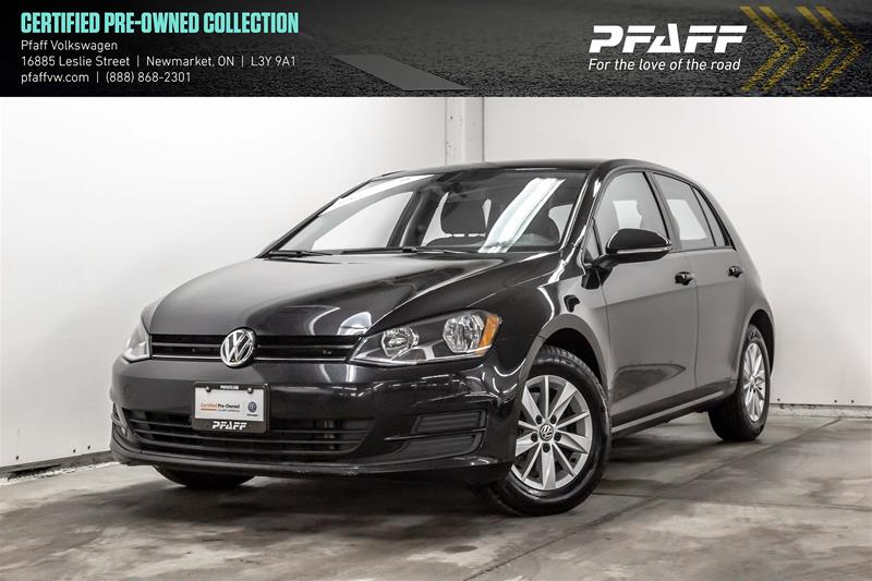 Certified Pre-Owned 2015 Volkswagen Golf 5-Dr 1.8T Trendline at Tip