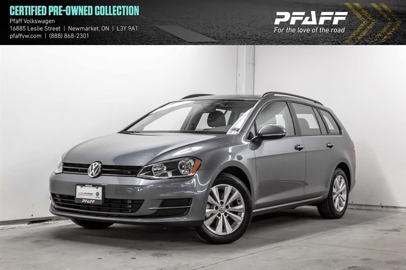 Certified Pre-Owned 2017 Volkswagen Golf Sportwagen 1.8T Trendline 6sp at w/Tip