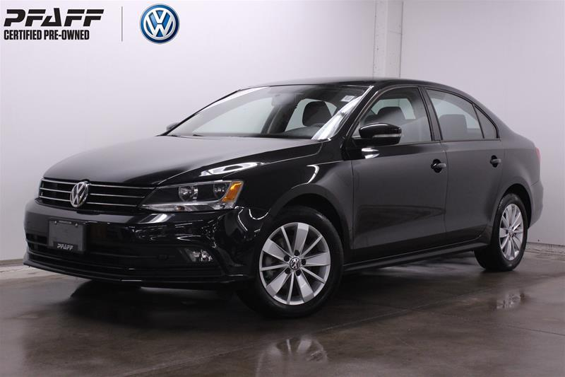 Certified Pre-Owned 2015 Volkswagen Jetta Trendline plus 2.0 TDI 6sp DSG at w/ Tip