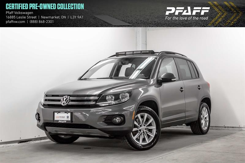 Certified Pre-Owned 2015 Volkswagen Tiguan Comfortline 6sp at Tip 4M