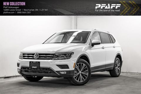 New 2020 Volkswagen Tiguan Highline 2.0T 8sp at w/Tip 4M With Navigation & AWD