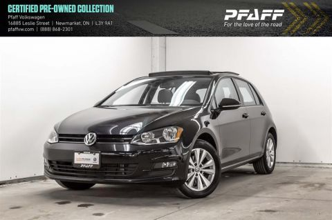 Certified Pre-Owned 2016 Volkswagen Golf 5-Dr 1.8T Comfortline 6sp at w/Tip
