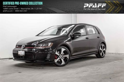 Certified Pre-Owned 2015 Volkswagen Golf GTI 5-Dr 2.0T Autobahn 6sp