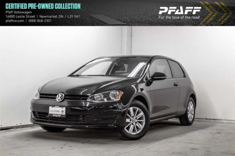 Certified Pre-Owned 2015 Volkswagen Golf 3-Dr 1.8T Trendline 5sp