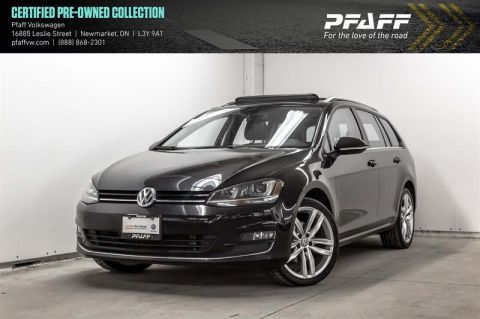 Certified Pre-Owned 2016 Volkswagen Golf Sportwagon 1.8T Highline 6sp at w/Tip