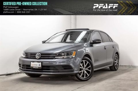 Certified Pre-Owned 2016 Volkswagen Jetta Comfortline 1.4T 6sp at w/Tip (Prod End 11.2015)