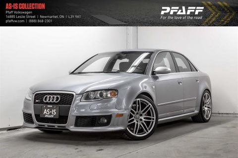 Pre-Owned 2007 Audi RS4 6sp man Qtro