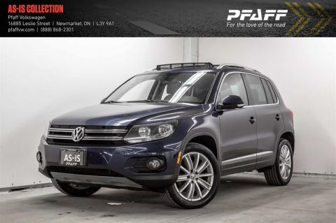 Pre-Owned 2012 Volkswagen Tiguan Highline 6sp at Tip 4M