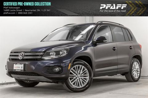 Certified Pre-Owned 2015 Volkswagen Tiguan Special Edition 6sp at Tip 4M